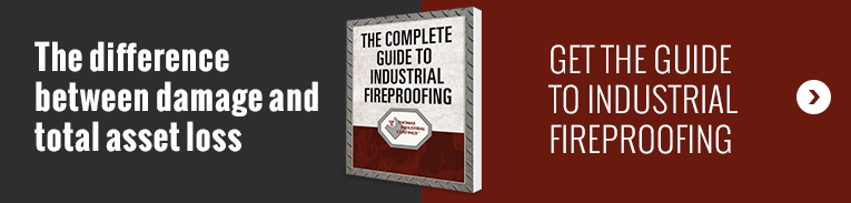 The difference between damage and total asset loss. Get the guide to industrial fireproofing.